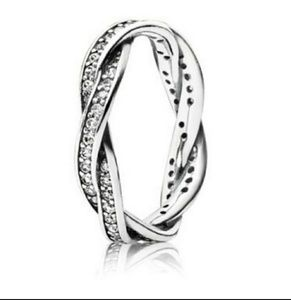 Authentic Pandora twist of fate ring